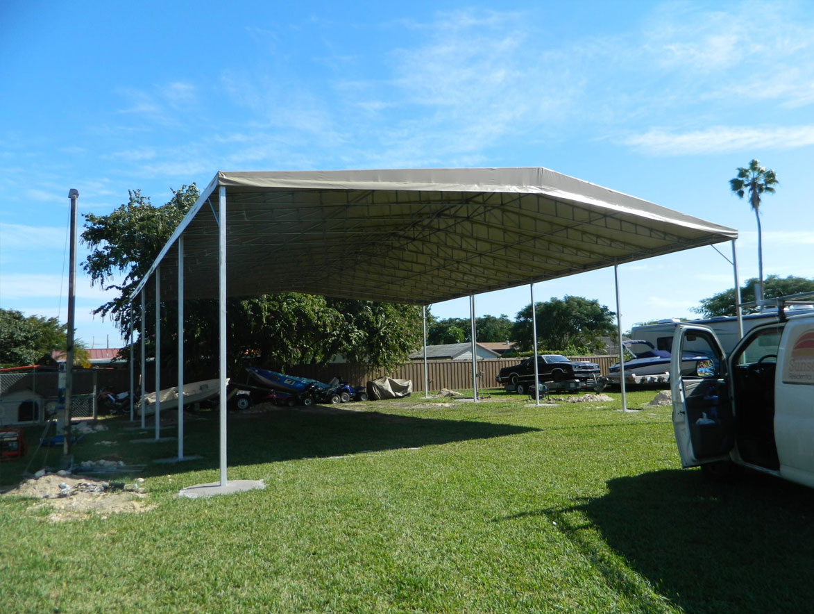 Carports And Boat Ports Awnings Canopies Miami Florida